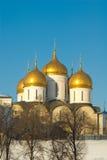 Moskou. Tempel Royalty-vrije Stock Foto