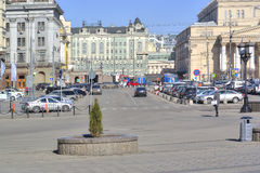 moskou Theatervierkant Stock Foto's