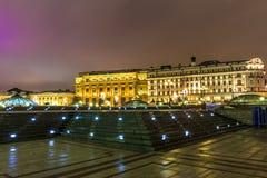 Moskou vóór het nieuwe jaar Stock Foto's