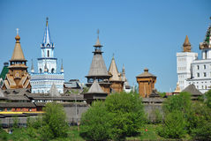 Moskou, vernisage in Izmaylovo Stock Afbeelding