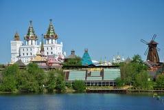 Moskou, vernisage in Izmaylovo Royalty-vrije Stock Foto