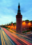 Moskow night Stock Photography