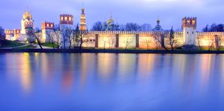 Moskow night Royalty Free Stock Photos