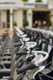Moskow, public bicycle rental Stock Images