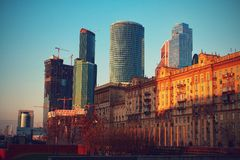 Moskva Fotografering för Bildbyråer