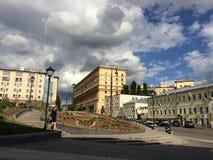 Moskva arkitektur Royaltyfri Bild
