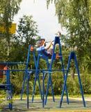 Moskva Cherkizovsky parkerar Royaltyfria Foton
