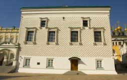Moskva den fasetterade kammaren Royaltyfri Fotografi