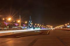 Moskva för det nya året Royaltyfria Foton
