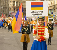 Moskva festival Royaltyfri Fotografi