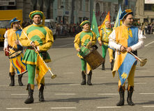 Moskva festival Royaltyfria Bilder