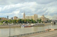 Moskva flod Arkivfoton