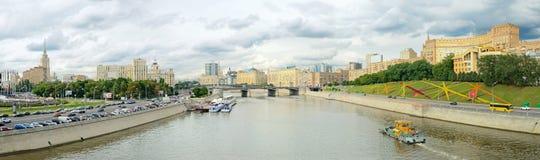 Moskva flod Arkivbild