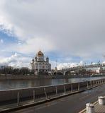 Moskva flod, Moskva, rysk federal stad, rysk federation, Ryssland Arkivfoto