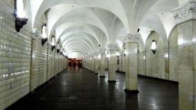 MOSKVA gångtunnel Fotografering för Bildbyråer