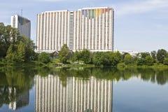 Moskva hotell Izmaylovo Royaltyfri Foto
