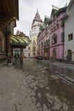 MOSKVA - JUNI 04: Kulturell-underhållning komplex Kreml i Izma Royaltyfria Foton