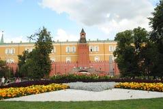 Moskva KremlÑ ` vskaya ściana Obraz Royalty Free