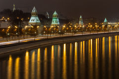 Moskva Kreml Arkivbilder