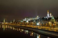 Moskva Kreml Arkivbild