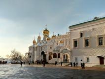 Moskva; Kreml Royaltyfria Foton
