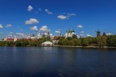 Moskva Kreml i Izmailovo Arkivbilder