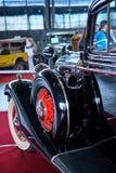 MOSKVA - MARS 09, 2018: Buick modell 57 1933 på utställningen Oldti Royaltyfri Bild