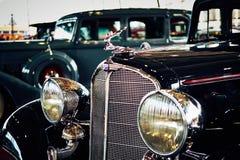 MOSKVA - MARS 09, 2018: Buick modell 57 1933 på utställningen Oldti Arkivfoton