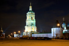 Moskva. Novospassky kloster. Royaltyfria Foton
