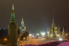 Moskva röd fyrkant Royaltyfri Fotografi