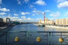Moskva River Royalty Free Stock Photo