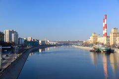 Moskva River Stock Image