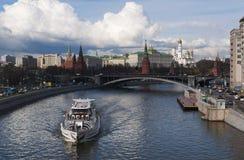 Moskva rysk federal stad, rysk federation, Ryssland Fotografering för Bildbyråer