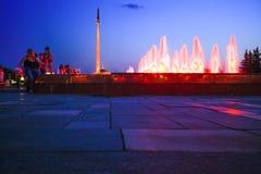 MOSKVA RYSSLAND, 11 AUGUSTI 2014, centralt museum av Arkivfoton