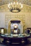 MOSKVA; RYSSLAND - det statliga historiska museet Royaltyfria Foton