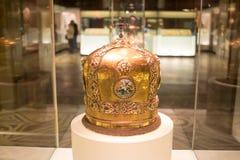 MOSKVA; RYSSLAND - det statliga historiska museet Arkivfoto