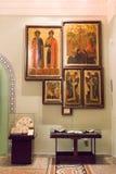 MOSKVA; RYSSLAND: Det statliga historiska museet Royaltyfria Bilder