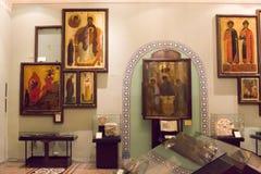 MOSKVA; RYSSLAND: Det statliga historiska museet Fotografering för Bildbyråer
