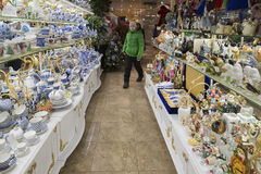 Moskva Ryssland - Januari 10 2015 Inre av Royaltyfri Fotografi