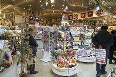 Moskva Ryssland - Januari 10 2015 Inre av Arkivbild