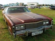 MOSKVA RYSSLAND - Juli 15, 2008: Autoexotic för ` för Cadillac eldoradoutställning 2008 `, Royaltyfri Bild