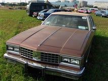 MOSKVA RYSSLAND - Juli 15, 2008: Autoexotic för ` för utställning för Oldsmobile delta 88 2008 `, Royaltyfria Foton