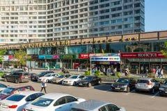 Moskva Ryssland -03 Juni 2016 Novoarbatsky handelhus på Novy Arbat Royaltyfri Foto