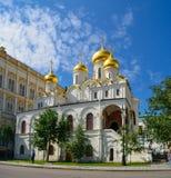 Moskva, Ryssland, Kreml, kyrkan av avlagringen av Natalia och Gregory, 16th århundrade Royaltyfria Bilder
