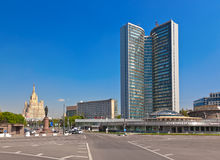 MOSKVA RYSSLAND - MAJ 01: Royaltyfri Foto