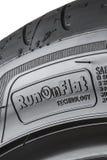 MOSKVA RYSSLAND - MARS 24, 2018: Sommarbilgummihjul Eagle F1 Asymme Arkivbild