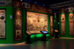 Moskva Ryssland, museum` Ryssland - min historie`, Royaltyfria Foton