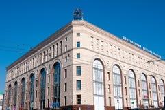 MOSKVA RYSSLAND - OKTOBER 06, 2015: Byggnad av centrala Children Arkivbilder