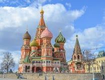 Moskva Ryssland, röd fyrkant arkivbild