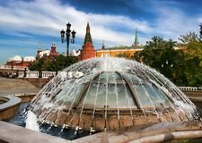 Moskva Ryssland - September 18, 2017: Det statliga historiska museet Royaltyfri Bild